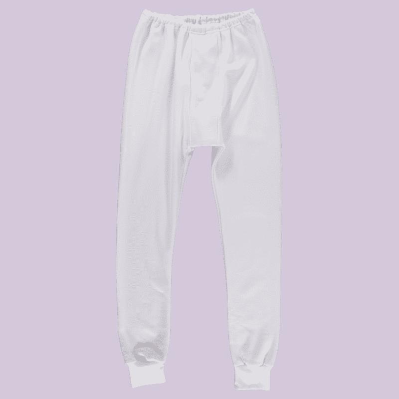 kalesony biały dresowe bawełniane ewax