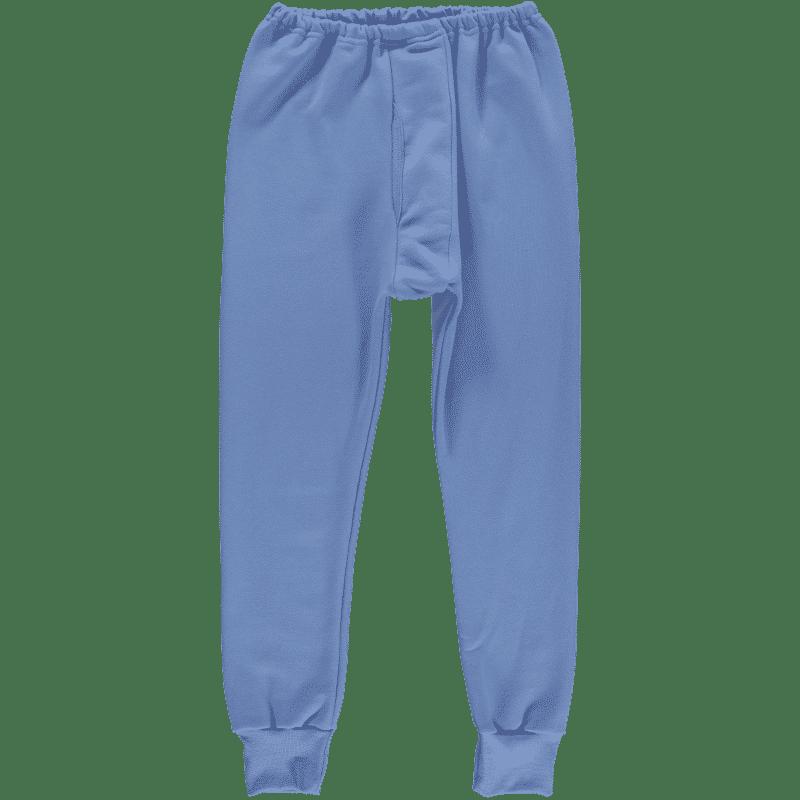 kalesony niebieskie dresowe bawełniane ewax